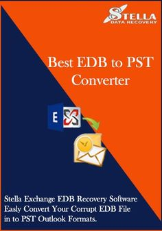 How to recover edb to pst