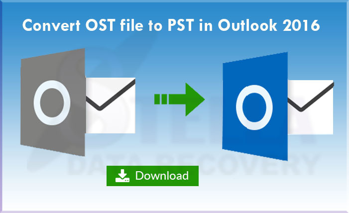 How to recover ost to pst