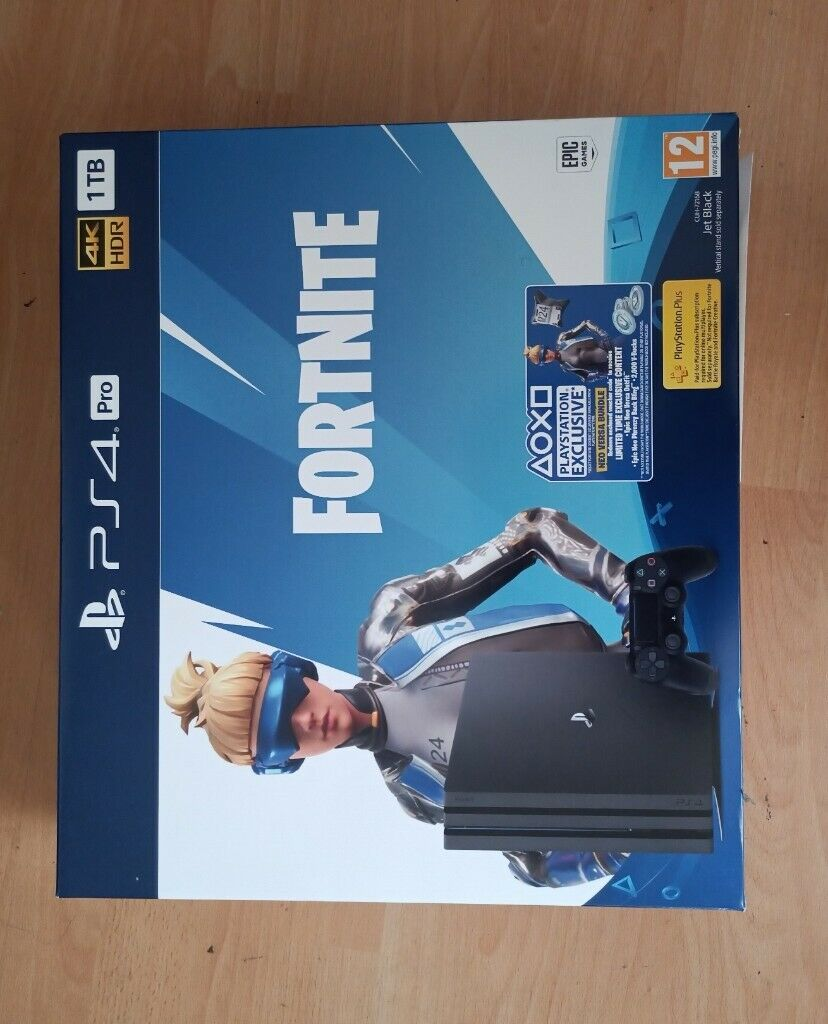 Brand New PlayStation  Pro Fortnite Edition