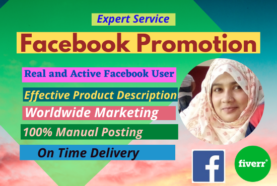 I will do promotion your business